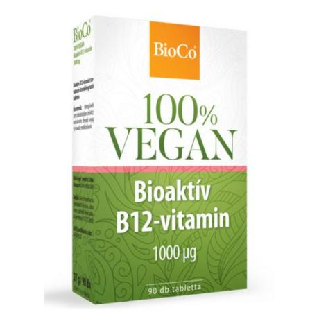 BioCo 100% VEGAN BIOAKTÍV B12-VITAMIN 90 DB