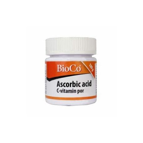 BioCo ASCORBIC ACID C-VITAMIN POR 180 G