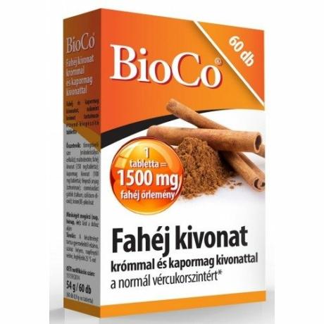 BioCo FAHÉJ KIVONAT 60 DB