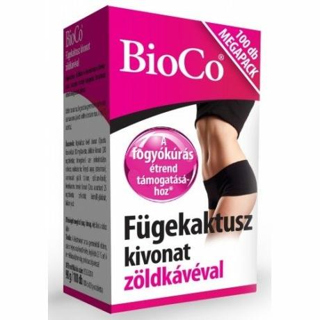 BioCo FÜGEKAKTUSZ KIVONAT 100 DB