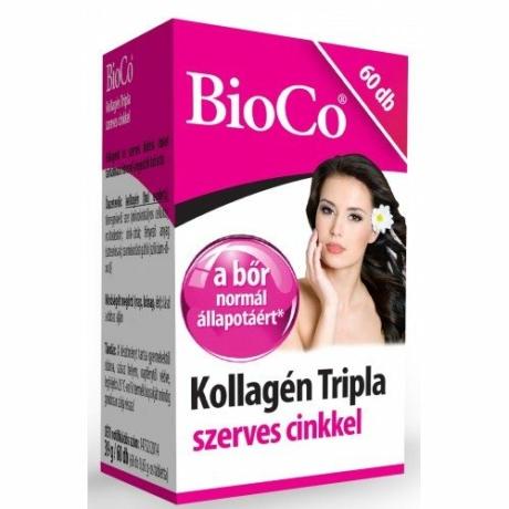 BioCo KOLLAGÉN TRIPLA SZERVES CINKKEL 60 DB