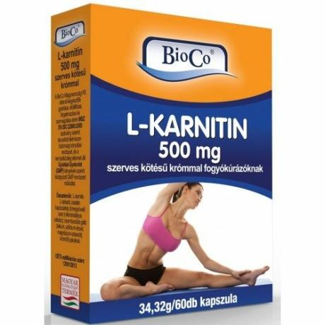 BioCo L-KARNITIN 500 MG 60 DB