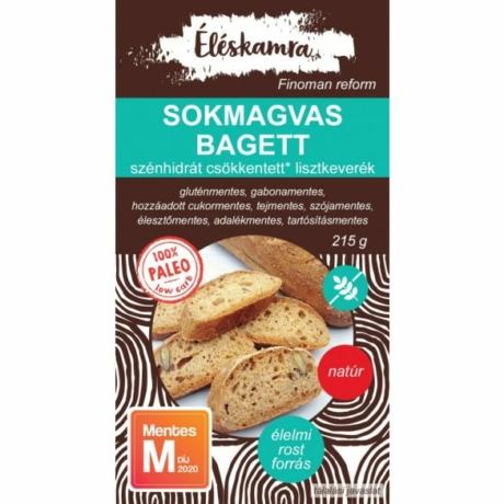 ÉLÉSKAMRA SOKMAGVAS BAGETT LISZTKEVERÉK 215 G