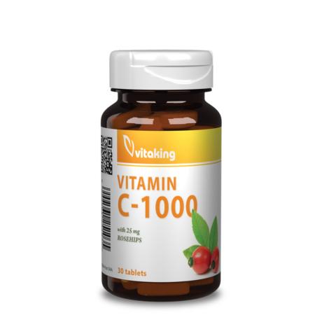 VITAKING C-VITAMIN 1000 MG (30 DB)