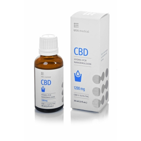 CBD emulzió 1200mg 30 ml