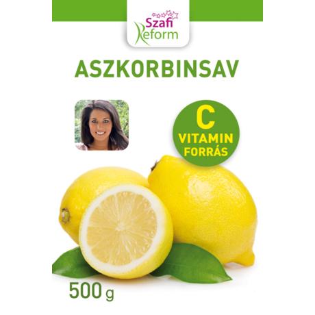 SZAFI Reform Aszkorbinsav 500g