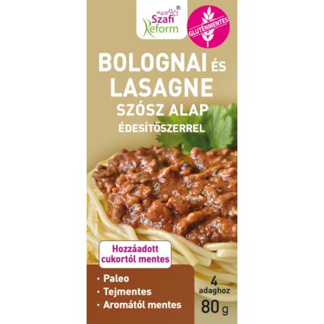 Szafi Reform Bolognai és lasagne szósz alap édesítőszerrel
