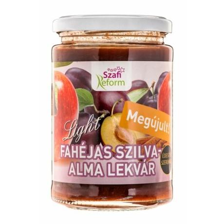 Szafi Reform Fajéhas szilva-alma lekvár 350g
