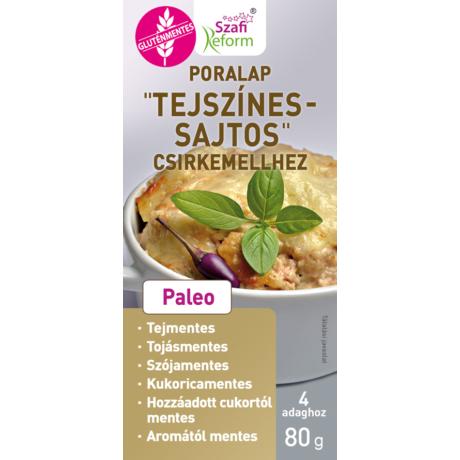 Szafi Reform Poralap; Tejszínes; sajtos; csirkemellhez (gluténmentes)