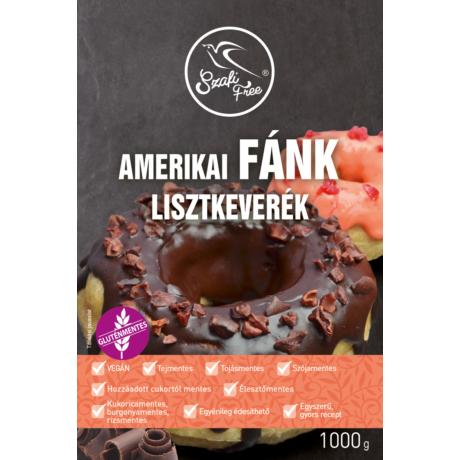 Szafi Free amerikai fánk lisztkeverék (gluténmentes, tejmentes, tojásmentes, élesztőmentes)