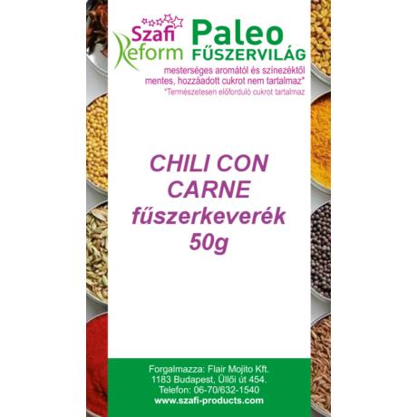 Szafi Reform Paleo Chili con carne fűszerkeverék 50g