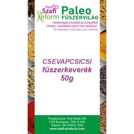 Szafi Reform Paleo Csevapcsicsi fűszerkeverék 50g