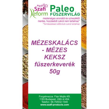 Szafi Reform Paleo Mézeskalács – Mézes keksz fűszerkeverék 50g