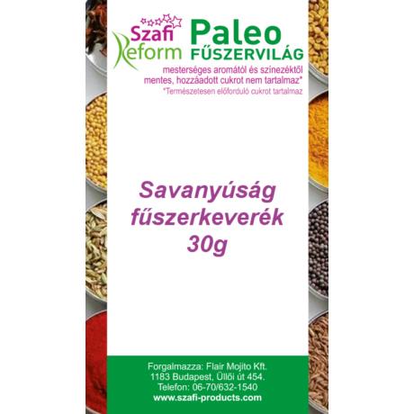 Szafi Reform Paleo Savanyúság fűszerkeverék (pl. savanyú uborka ízesítéséhez) (gluténmentes) 30g